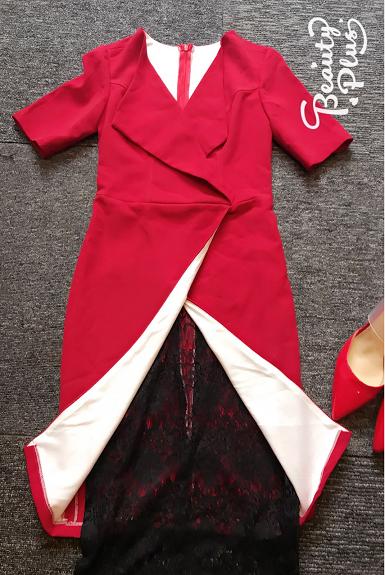 Đầm ôm body phối ren đẹp