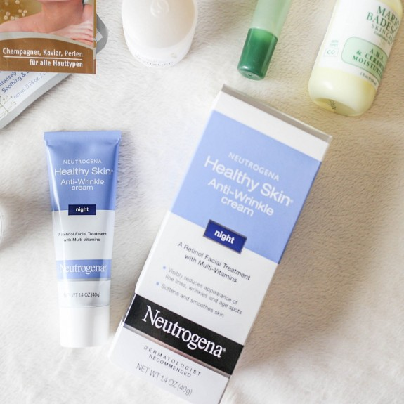 Neutrogena Healthy Skin Anti-Wrinkle Cream Night Formula Kem Dưỡng Da Và Giảm Nếp Nhăn 40g