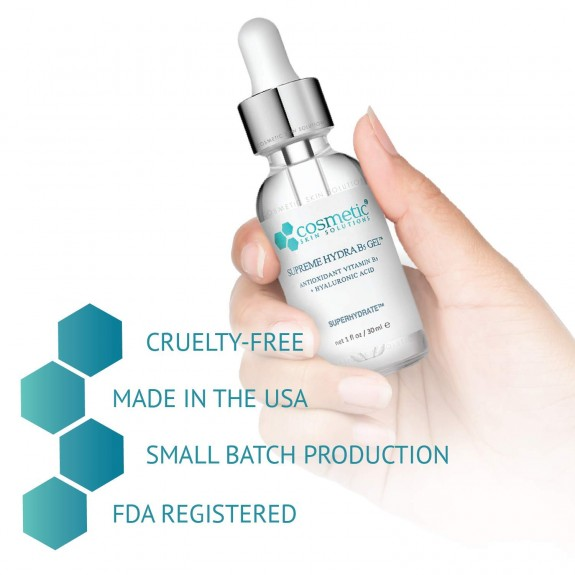 Serum Cosmetic Skin Solutions Hydra B5 Gel Advanced Formula+ Phục Hồi Dưỡng Ầm 60ml