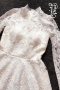 Đầm ôm body ren đuôi tôm