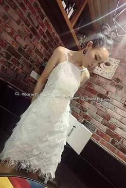 Đầm maxi trắng đẹp hai dây
