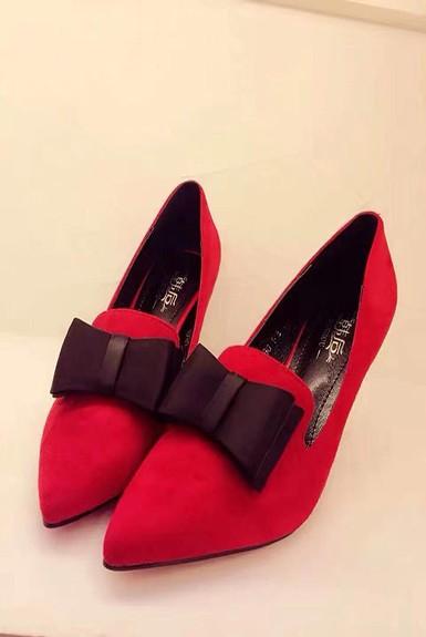 Giày Cao Gót Đỏ