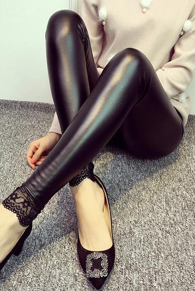 Quần Legging bóng đen độc lạ